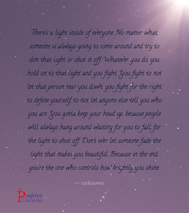 Dont Ever Let Anyone Dim Your Light Emmagc75s Blog