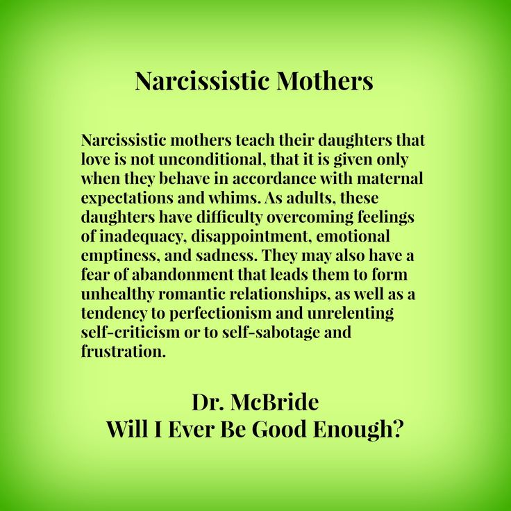 The Narcissistic Parent Of Special >> Narcissistic Mothers Emmagc75 S Blog