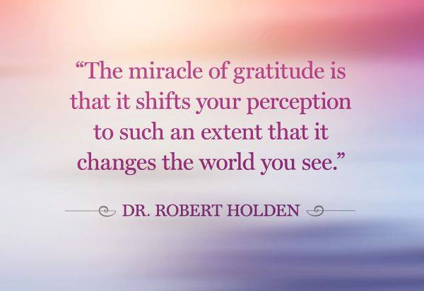 miracle of gratitude