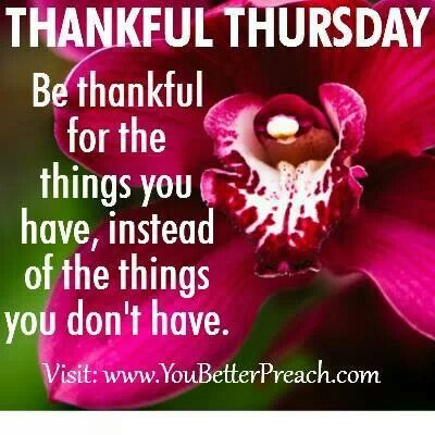 Thankful Thursday1