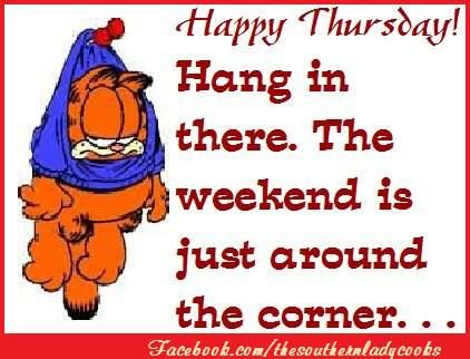 thursday hang in there