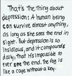 depression cage